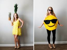 emoji costume diy pineapple and emoji costume from savers all for the memories