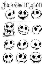 diy skellington ornaments the nightmare before