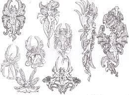 Fairy And Flower Tattoo Designs Fairies Tattoo Images U0026 Designs