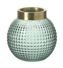 Large Round Glass Vase Glass Vintage Retro Decorative Vases Ebay