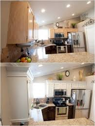 Kitchen Cabinets Diy by Diy Kitchen Cabinet Makeover Bamboo Mat Remove Panel And Glue