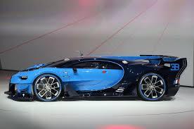 concept bugatti bugatti vision gran turismo hints at chiron