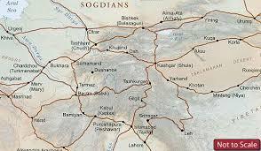 odyssey map silk road maps caravanistan