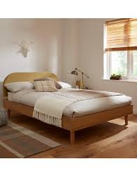 Bed Frame With Wood Legs Adelaide Bed Frame With Headboard Double Bed Size Comfort