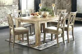 ashley furniture farmhouse table ashley furniture dining set architecture six piece rustic dining set
