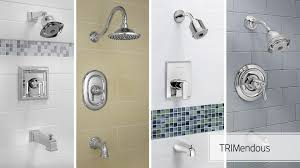 shower heads shower faucets tub faucets american standard video american standard trimendous shower valve system