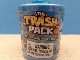 trash pack series 3 gross garbage gang blind opening
