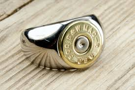 bullet wedding rings bullet ring s stainless steel brass bullet ring