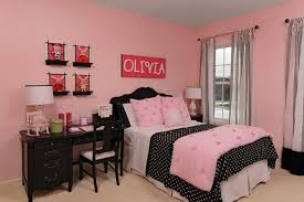 Outstanding Decorating Ideas For Girls Bedroom Pink  On Modern - Girls bedroom ideas pink