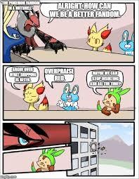 Board Meeting Meme - pokemon board meeting memes imgflip