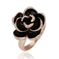 nickel free white gold zhouyang r089 gold color ring health jewelry nickel free