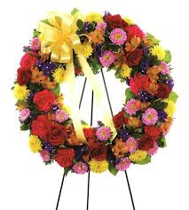 sympathy wreaths florists