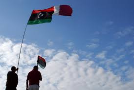 Lybian Flag Qatar U0027s Support Of The Worst Of The Worst In Libya Must End