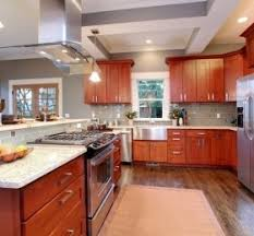 Shaker Cherry Kitchen Cabinets American Cherry Wood U2039 Decor Love