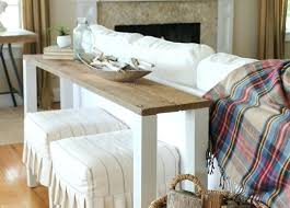 how to build a sofa table how to make a sofa tray table diy