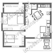 two bedroom home plans with office top duplex house architecture floor plan designer online ideas inspirations bed house small unique black white plans personable build architectural designs drawings one