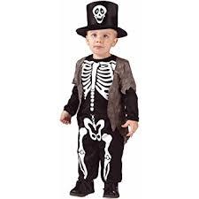 Amazon Halloween Costumes Amazon Boys Skeleton Classic Small Halloween Costume 24 2t