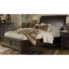 Mahogany Bed Frames Mahogany Storage Bed Bayfield Rc Willey Furniture Store