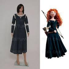 brave princess merida shirt cosplay costume fancy dress disney