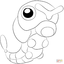 caterpie coloring page free printable coloring pages
