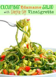 cucumber edamame salad with ginger soy vinaigrette noble pig