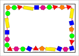 literacy and maths numeracy a4 page border templates sparklebox