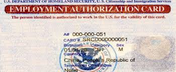 employment authorization form uscis starts issuing a single