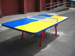 Outdoor Tennis Table Caloo Diabolo Table Tennis Table Available In Different Colours