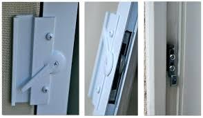 Patio Door Locks Hardware Sliding Patio Door Locks Or Image Of Sliding Patio Door