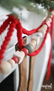 diy oversized wood bead garland crafts christmas holidays and