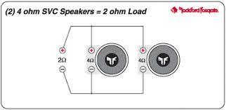 2 ohm wiring diagrams 2 ohm dvc wiring 4 ohm to 2 ohm diagram 2