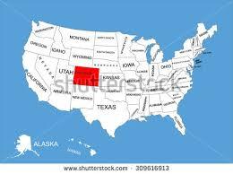 usa map kansas state colorado mountains map free vector stock graphics