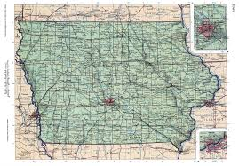 Map Of Iowa State by Iowa Mapfree Maps Of Us