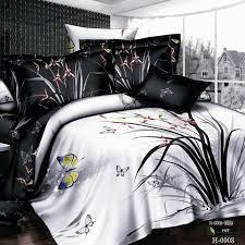Unique Bed Comforter Sets Unique Bedspreads Black And White Unique Bedding Set Bedclothes 3d