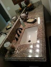 countertop remodel with white springs granite under mount white