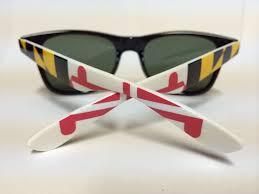Flag Sunglasses Maryland Flag Blacks Shades For U