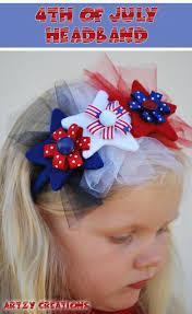 4th of july headbands 4th of july headband artzycreations