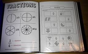 maths notebooking fractions u0026 decimals notebook guide pages