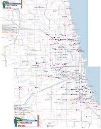 Chicago Theater Map by Chicago Movie Theatres Maps 1950