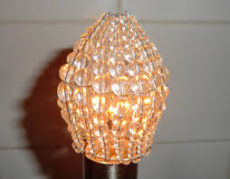 Candle Sleeves For Chandelier Chandelier Inspired Moroccan Glass Bead Light Bulb Candle Bulb