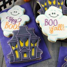 the bubbly hostess halloween cookie decorating station halloween