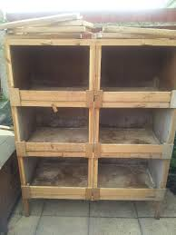 Rabbit And Guinea Pig Hutches Breeders Block Of 6 Rabbit Guinea Pig Hutches London South East