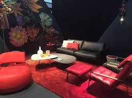 living room dark living room vibrant furniture black sofa red