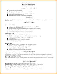 Experience In Resume Example by 28 Resume Leadership Skills Photo Skills For Resume