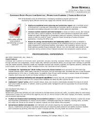 exle sle resume producer resume venturecapitalupdate