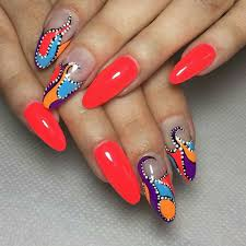 multi colored nails designs and ideas 2017 ladylife