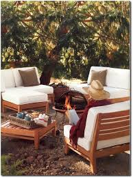 Teak Wood Furniture Sofa Set 10 Outdoor Comfortable And Cozy Outdoor Lounge Ideas