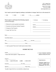 donation sheet template sample donation form template other