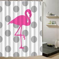 Flamingo Shower Curtains Pink Flamingo Shower Curtain Marcosanges