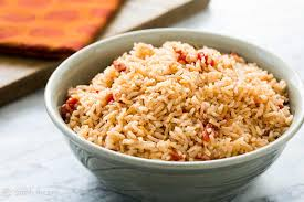 thanksgiving words in spanish spanish rice recipe simplyrecipes com